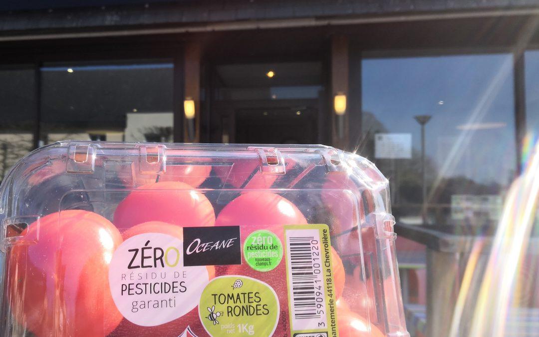 Zéro résidu de pesticides, 100% d'Amour