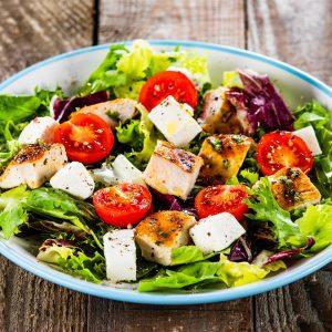 Exemple de salade Crêperie La-Bretonne.com