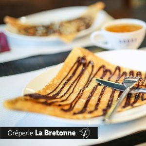 Crêpe avec chocolat Crêperie La-Bretonne.com