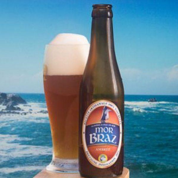Bouteille de bière MorBraz Crêperie La-Bretonne.com