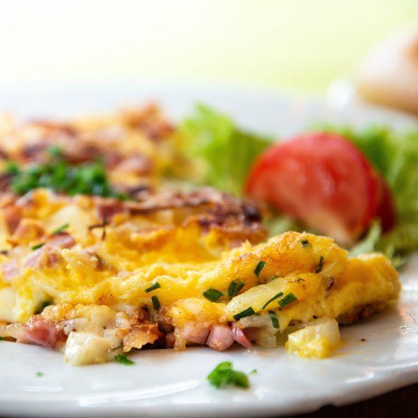 Exemple d'omelette Crêperie La-Bretonne.com